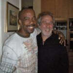 Kirk Nugent and Dr. Bruce Lipton at the Uplift Festival in Byron Bay Australia